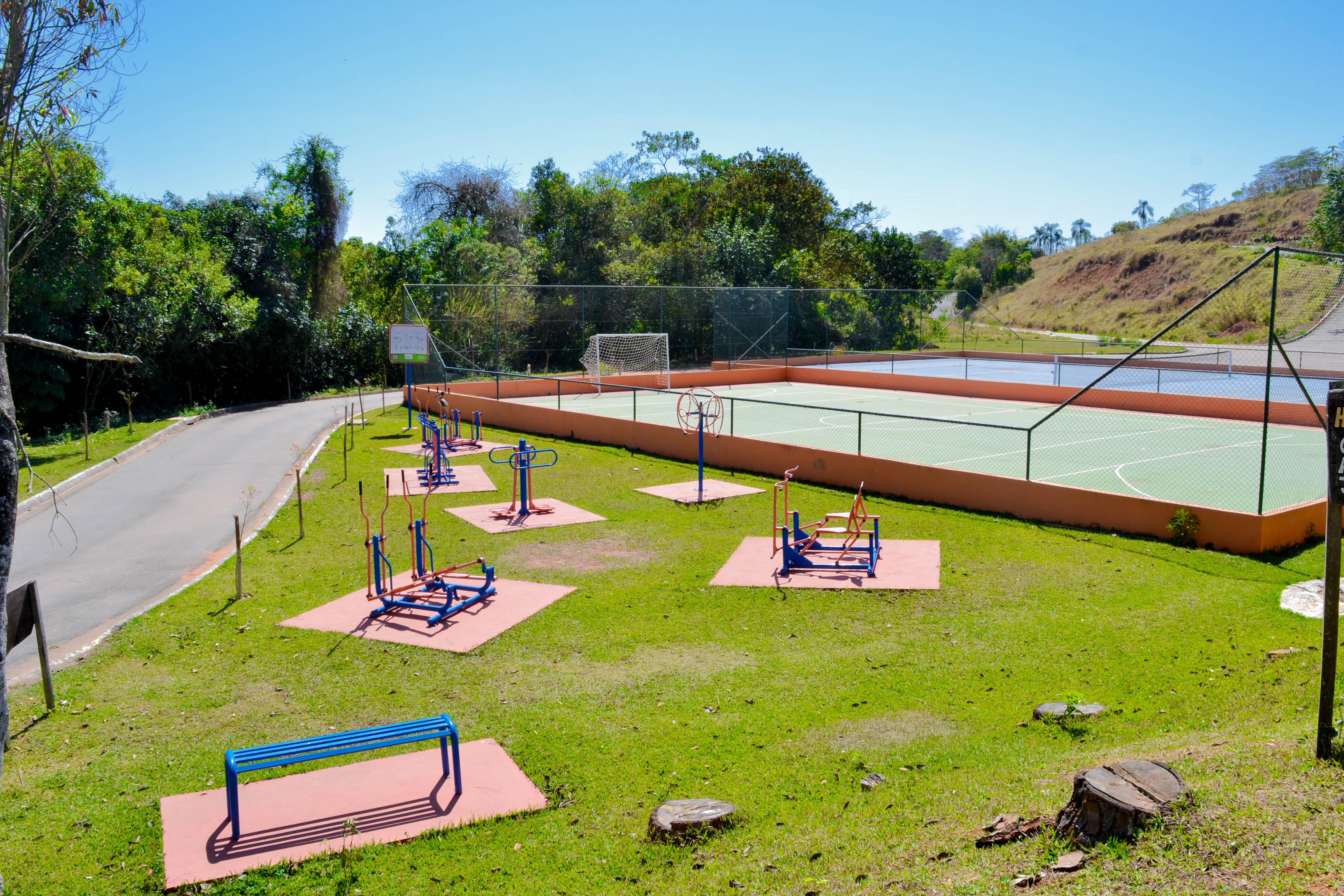 Conheça os benefícios da academia ao ar livre