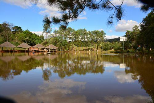 Lago Para Pesca - Hotel Fazenda Floresta do Lago