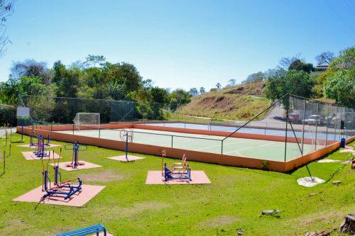 Quadra Poliesportiva hotel fazenda Floresta do Lago