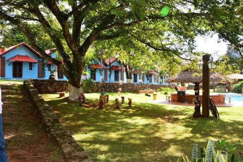 Área Externa Hotel Fazenda Floresta do Lago em Socorro SP